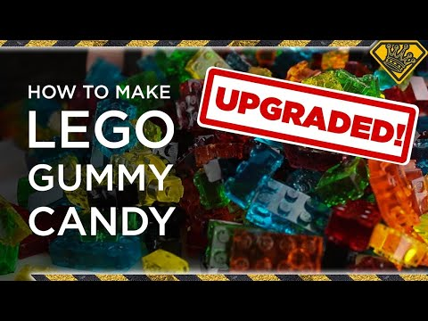 UPGRADED – How To Make LEGO Gummy Candy! TKOR's Guide To Making The Best Gummy Lego Candy!