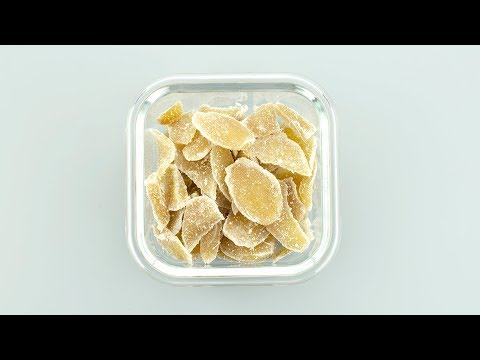 How to make Ginger Candy – Easy Candied Ginger Recipe