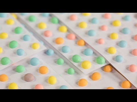 How to Make Candy Dots at Home   Get the Dish