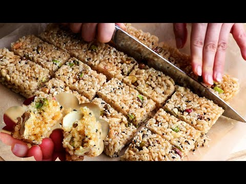 Easy And Tasty Puffed Rice Candy Recipe