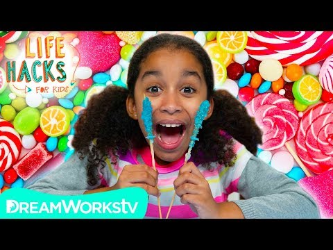 Rock Candy and Other Sugar Hacks | LIFE HACKS FOR KIDS