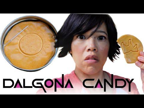 Make Squid Game Dalgona Candy in 5 Minutes | Homemade Ppopgi
