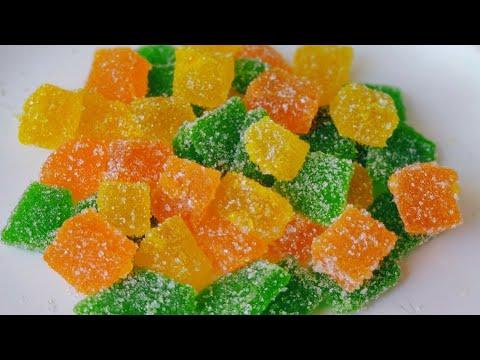 Jelly candy recipe | home made gummy candy recipe | jujubes recipe